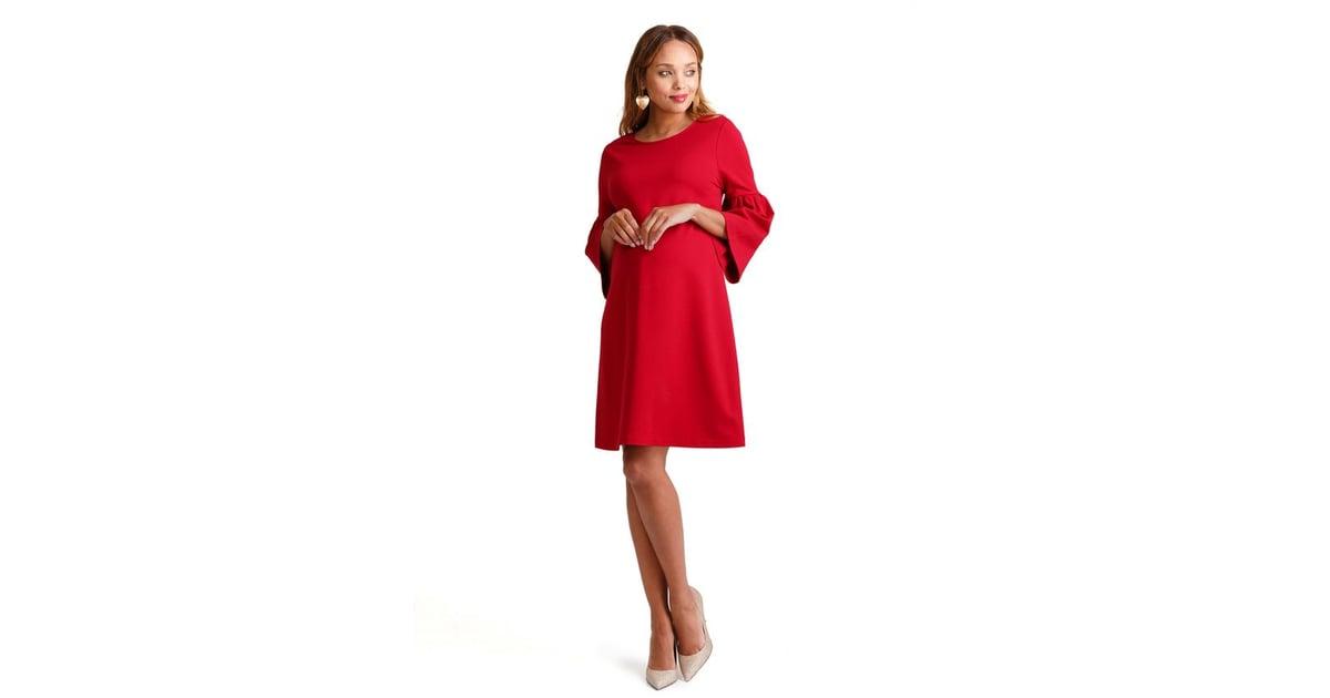 0650a907235 Ingrid   Isabel Ponte Bell Sleeve Dress