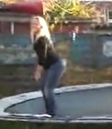 Trampoline Accident
