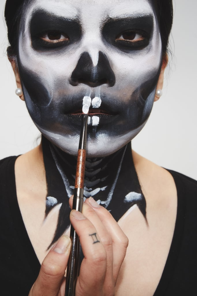 SFX Look 3: How to Do Skull Makeup