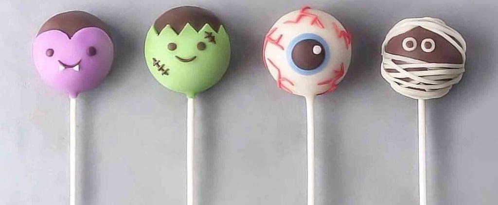 Halloween Cake Pop Designs For Kids
