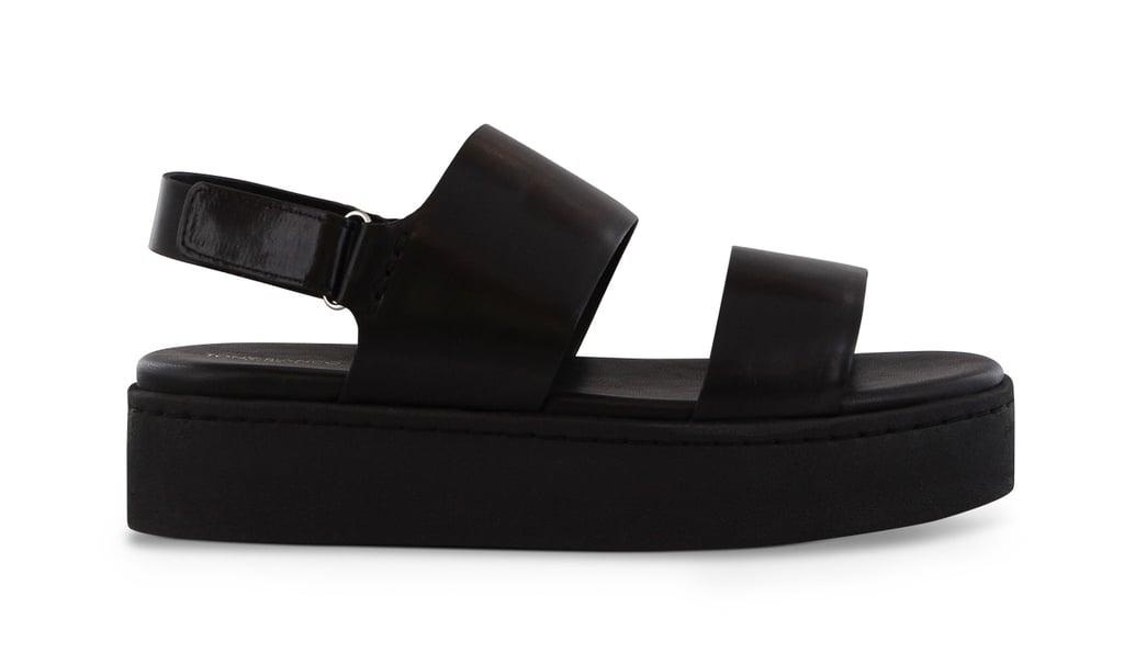 Tony Bianco Paisley Black Trieste Sandals