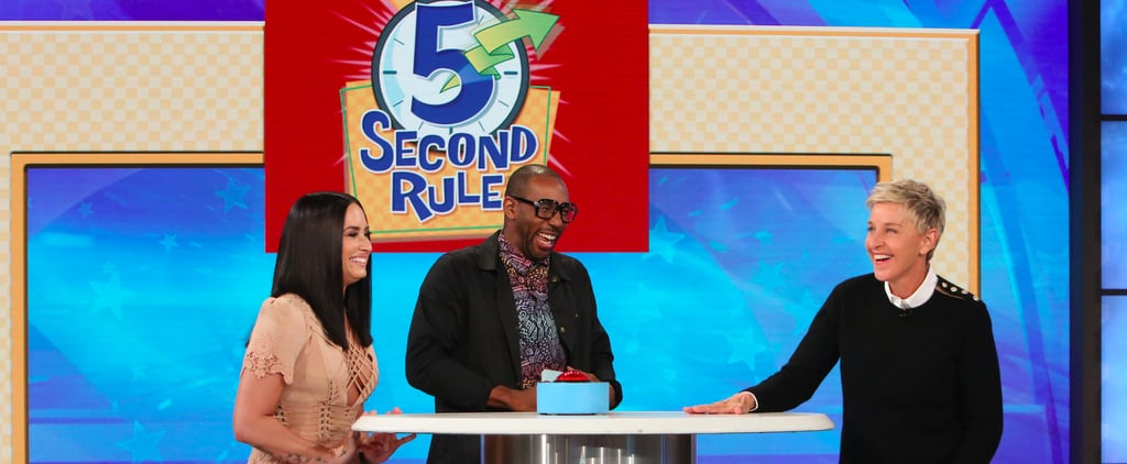 Demi Lovato 5 Second Rule With Ellen DeGeneres 2017