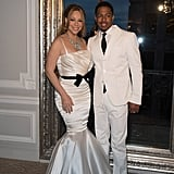 Mariah Carey and Nick Cannon dressed up once again as bride and groom for their vow-renewal ceremony in Paris in April.