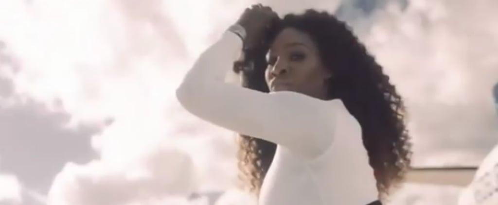 """Serena Williams Dancing to """"Lemon"""" Video"""