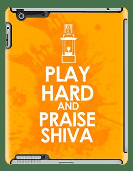 Play Hard and Praise Shiva iPad Case ($64)