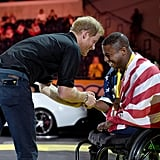 Prince Harry at Invictus Games 2017