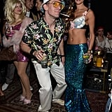 JC Chasez went as Hunter S. Thompson.