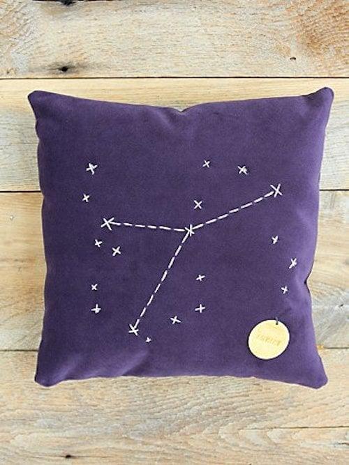 Cancer Star Sign Pillow ($98)
