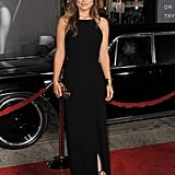 Olivia Wilde in black at the In Time premiere.