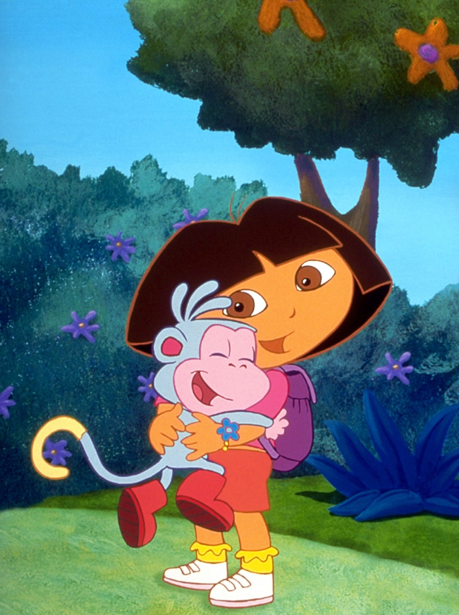 Boots and Dora From Dora the Explorer