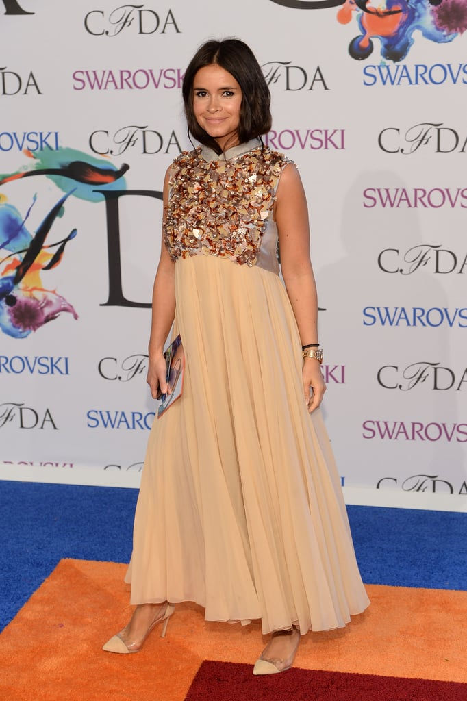 Miroslava Duma at the 2014 CFDA Awards