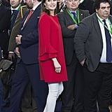 Letizia in Zara, April 2018