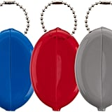 Rubber Coin Purse Keychains