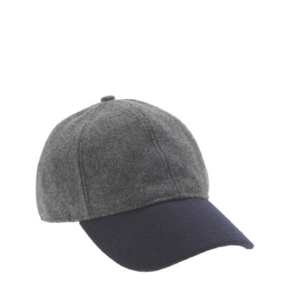 Just imagine how much cuter and sportier your outfits will look with this Colorblock Wool Baseball Cap ($40) to top them off.
