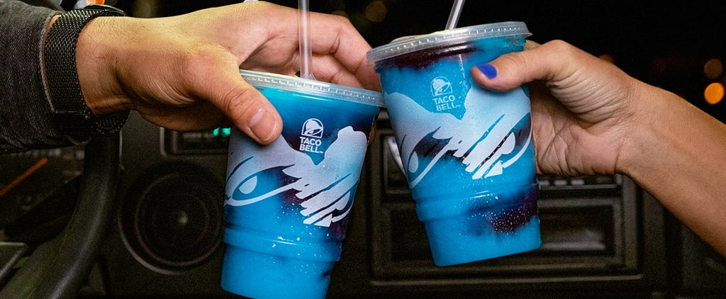 Taco Bell's Midnight Berry Freeze Is Like a Galaxy in a Cup