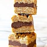 Fudge-Filled Oatmeal Cookie Bars