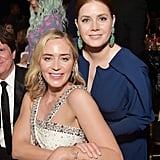 Pictured: Emily Blunt and Amy Adams