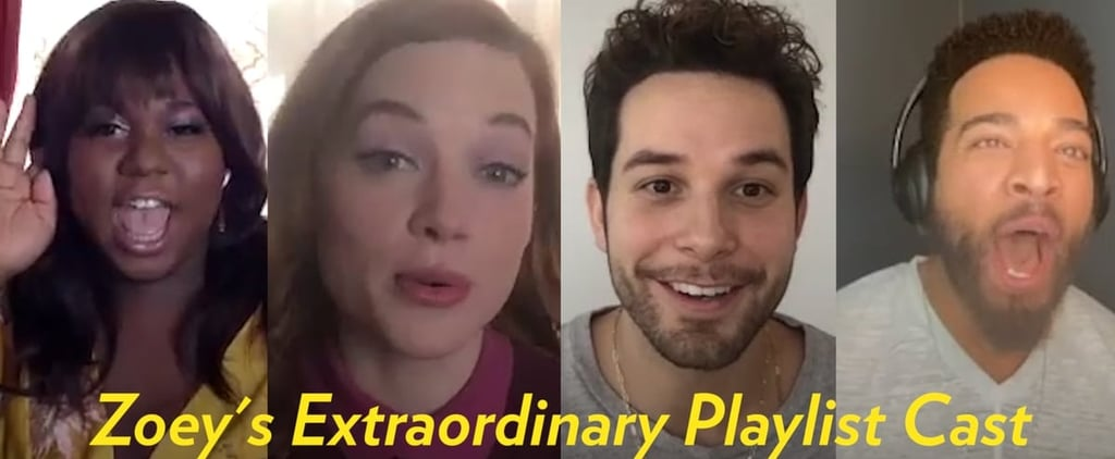 Watch the Zoey's Extraordinary Playlist Cast Guess the Lyric