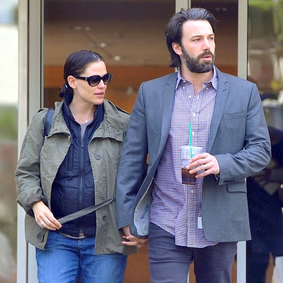 Ben Affleck and Jennifer Garner Holding Hands Pictures
