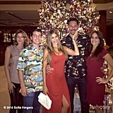 Sofia Vergara and Joe Manganiello celebrated Christmas Eve together.
