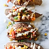 Veggie-Fajita-Stuffed Sweet Potatoes