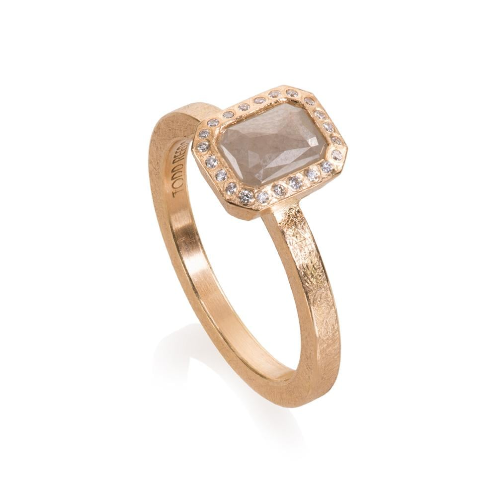 Todd Reed Ring With Fancy Cut Diamonds