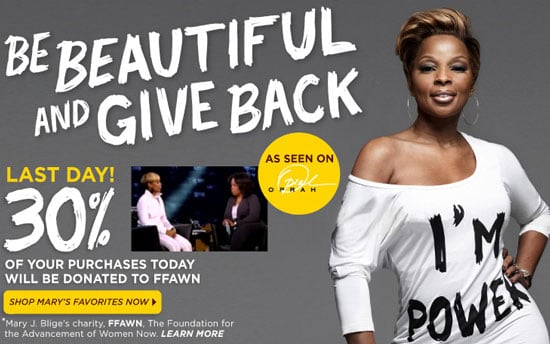 Mary J. Blige and Carol's Daughter Partner For Charity