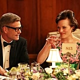 Harry Hamlin Who he plays: Jim Cutler, one of the partners at Peggy's firm. Why you know him: Hamlin headed up classic TV procedural L.A. Law, and in more recent years, he's been on Veronica Mars and Shameless.