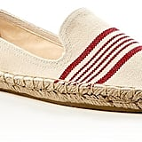 Soludos Striped Smoking Slipper Espadrille Flats ($55)
