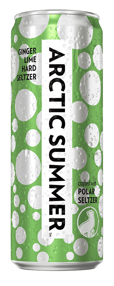 Arctic Summer Ginger Lime Hard Seltzer