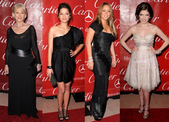 Photos of Marion Cotillard, Helen Mirren, Mariah Carey, Anna Kendrick at 2010 Palm Springs Film Festival Full List of Winners