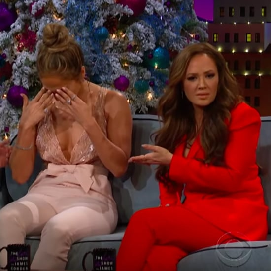 Jennifer Lopez and Leah Remini on The Late Late Show 2018