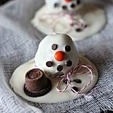 Shimmering Snowmen Oreo Cookies