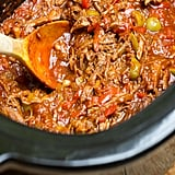 Slow Cooker Ropa Vieja With Peppers