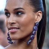 Cindy Bruna's Stunning Chopard Drop Earrings Made a Statement
