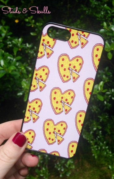 Heart-Shaped Pizza iPhone Case ($16)