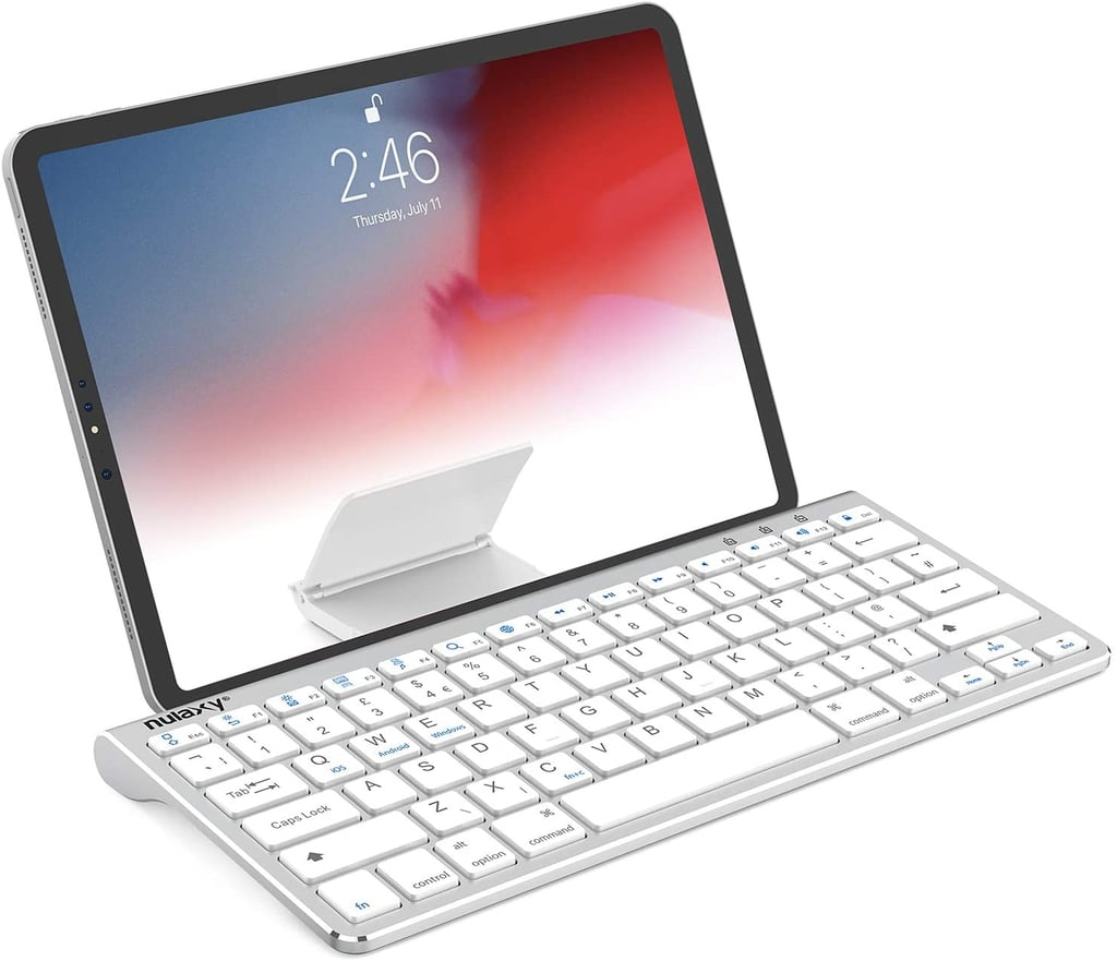 Nulaxy KM13 Bluetooth Keyboard With Sliding Stand