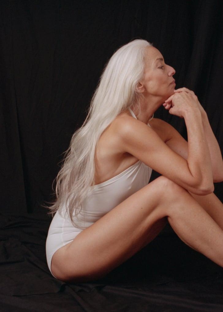 stunning blonde strip