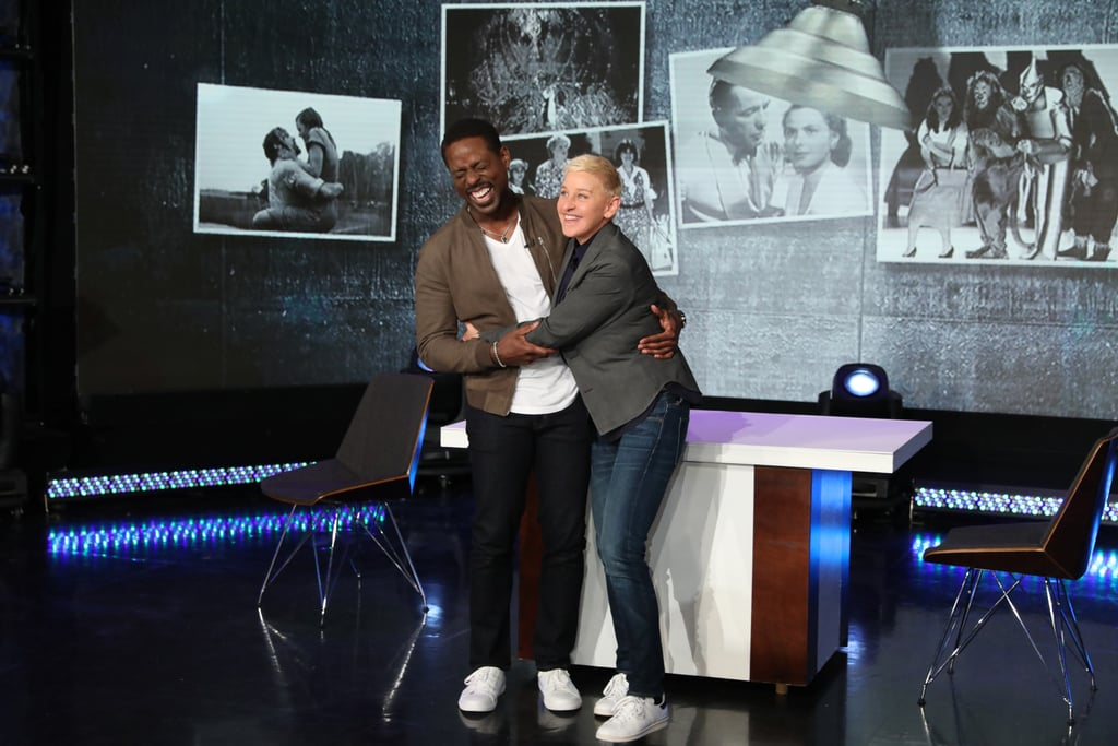 Ellen DeGeneres Scared the Sh*t Out of Sterling K. Brown, and OMG, His Reaction Has Me Weak