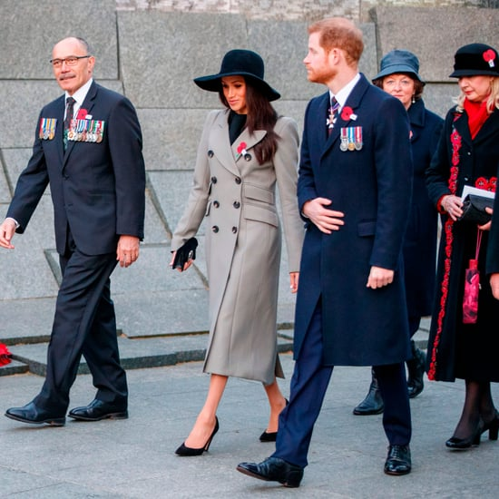Prince Harry and Meghan Markle at Anzac Day