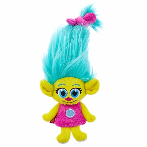 Trolls Smidge Flattie Small Dog Toy ($6)