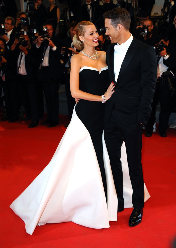 Blake Lively and Ryan Reynolds are the definition of a picture-perfect couple. In addition to being, you know, supergorgeous and in love, they also have a signature red-carpet pose to top it all off. When they're not giving each other heart eyes at events and premieres, Blake always shows subtle PDA with her husband by placing her hand on his chest or stomach. In fact, the sweet gesture actually started before they were an official item. During Spike TV's Scream Awards in 2010 (which was nearly two years before they tied the knot), the Green Lantern costars shared a moment on stage when Blake presented Ryan with his award. Since then, their cute moments together have only gotten better.       Related:                                                                                                           8 Women Who Bagged Ryan Reynolds Before Blake Lively