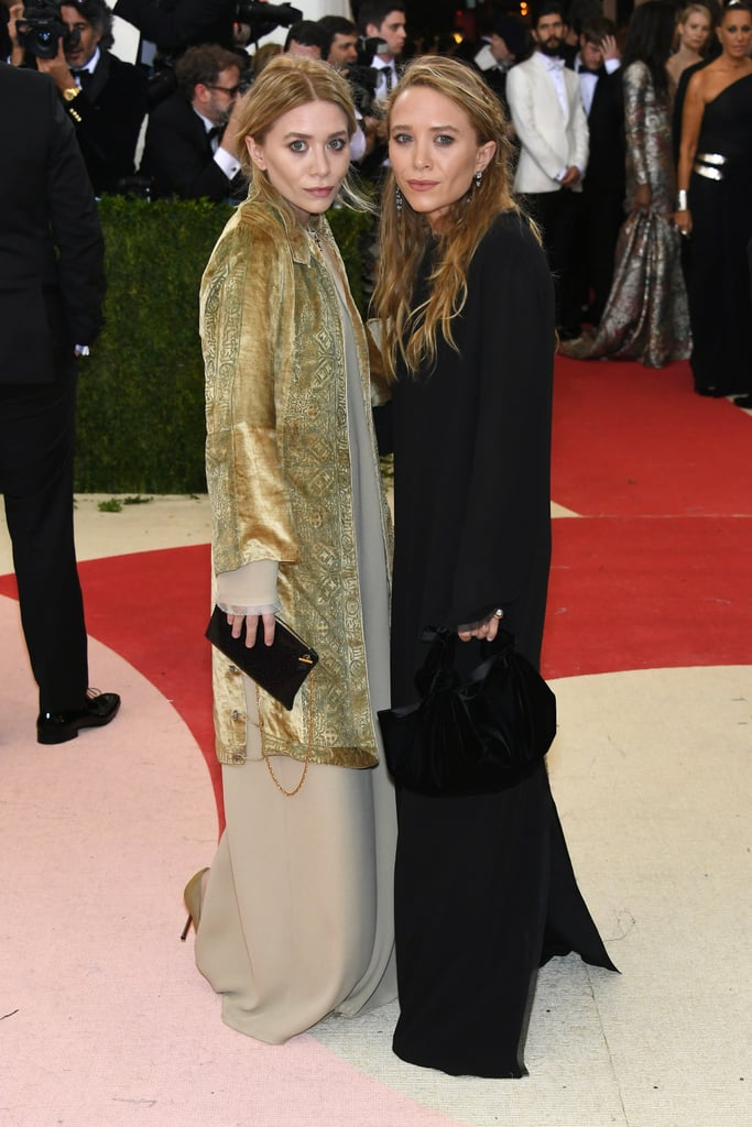 Ashley Even Wore a Coat Over Her Gown to the 2016 MET Gala