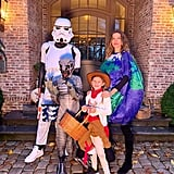 Gisele Bündchen and Tom Brady's Family All Dressed Up as Various Things