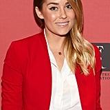 Lauren Conrad's signature flicked-out eyeliner look is not just timeless, but also goes with pretty much anything. Going with a minimal makeup look like Lauren did here really makes your eyes stand out.