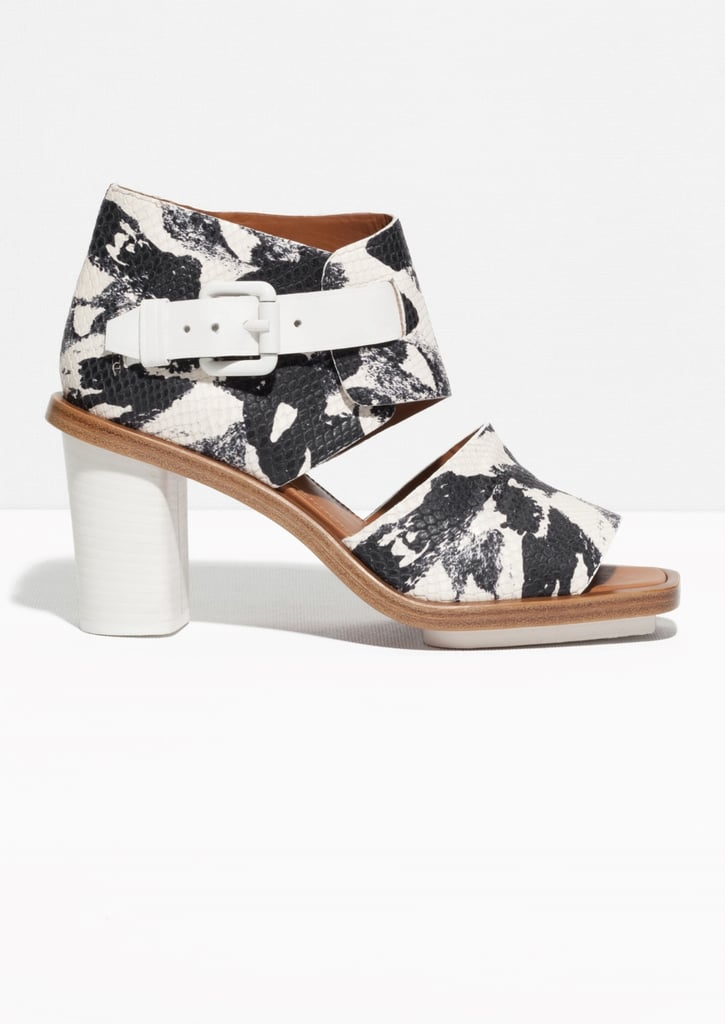 & Other Stories Painterly Sandals ($225)