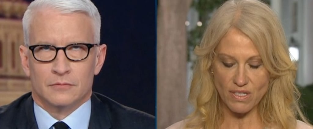 Anderson Cooper's Eye Roll at Kellyanne Conway