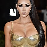 Kim Kardashian Versace Dress at the 2018 Met Gala