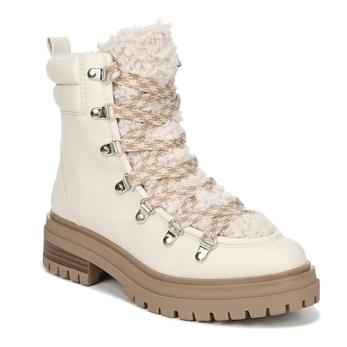 Circus by Sam Edelman Georgia Shearling Lace-up Boots