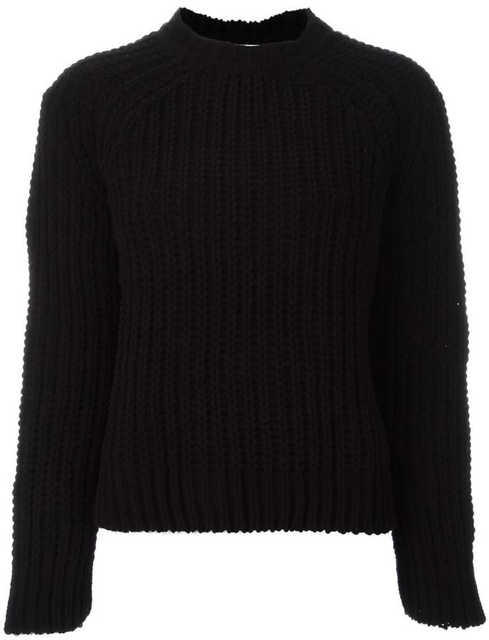 MAISON KITSUNÉ cable knit jumper (£276)